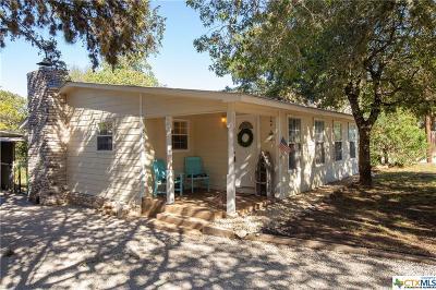 Canyon Lake TX Single Family Home For Sale: $189,900