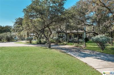 Spring Branch Single Family Home For Sale: 1528 Acacia Parkway