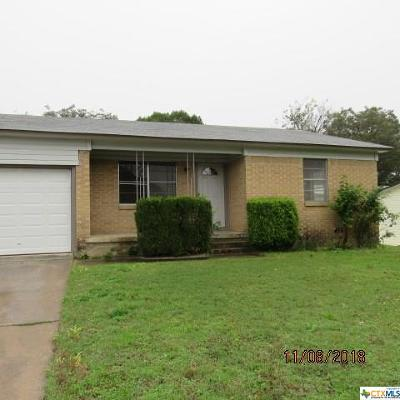 Copperas Cove Single Family Home For Sale: 612 N 13th Street