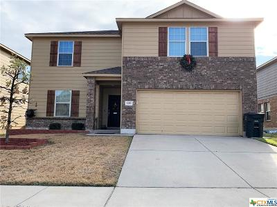 Killeen Single Family Home For Sale: 106 W Orion Drive