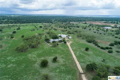 Burnet County Single Family Home For Sale: 2633 County Road 120