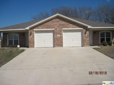 Harker Heights Multi Family Home For Sale: 316 Jeff Gordon