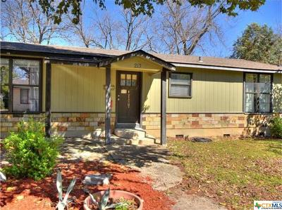 Hays County Single Family Home For Sale: 213 Shady