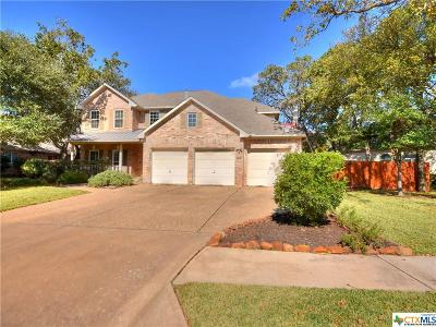 Round Rock Single Family Home For Sale: 2604 Whitehurst