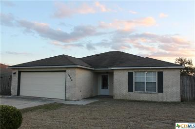 Killeen Single Family Home For Sale: 3406 Woodlake