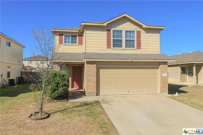 Killeen TX Single Family Home For Sale: $156,500