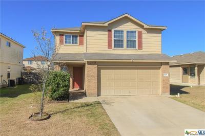 Killeen Single Family Home For Sale: 5305 Lyra Drive