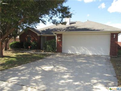 Killeen TX Single Family Home For Sale: $124,950