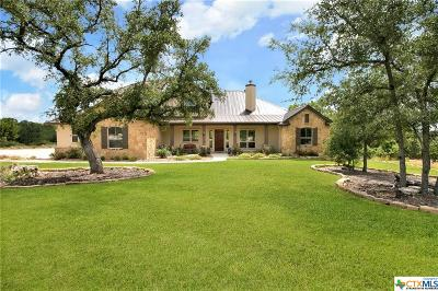 New Braunfels Single Family Home For Sale: 1147 Diretto