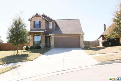 Killeen Single Family Home For Sale: 3304 Castleton