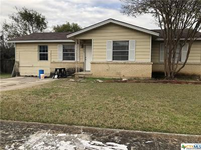 Copperas Cove Single Family Home For Sale: 1009 S 13th Street