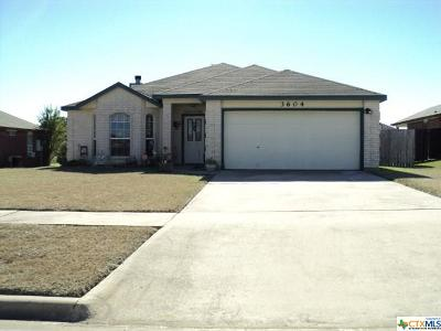 Killeen Single Family Home For Sale: 3604 Palmtree Lane