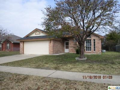 Killeen Single Family Home For Sale: 1509 Denise Drive