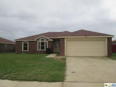 Killeen Single Family Home For Sale: 3202 Rockwall