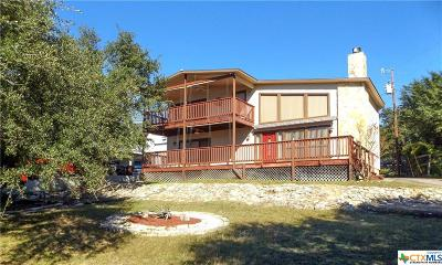 Canyon Lake Single Family Home For Sale: 611 Mount Lookout