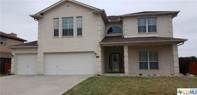 Killeen Single Family Home For Sale: 5815 Durango