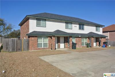 Killeen Multi Family Home For Sale: 4603 Hudson Drive #A-D