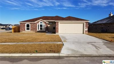 Copperas Cove Single Family Home For Sale: 2510 Heartland Avenue