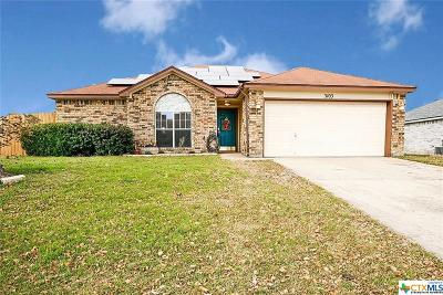 Killeen Single Family Home For Sale: 3103 O W Curry Drive