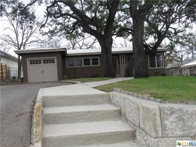 Lampasas Single Family Home For Sale: 505 S Ridge