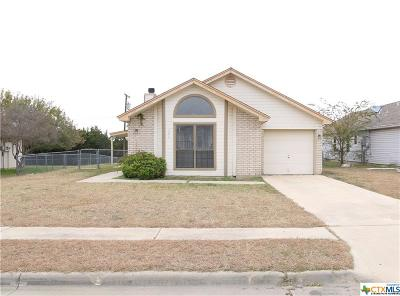 Copperas Cove Single Family Home For Sale: 304 Pinto Drive