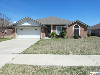 Killeen Single Family Home For Sale: 4710 Bear River Trail