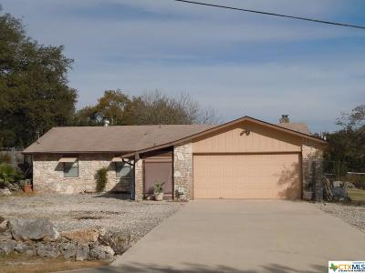 Canyon Lake Single Family Home For Sale: 769 Irene