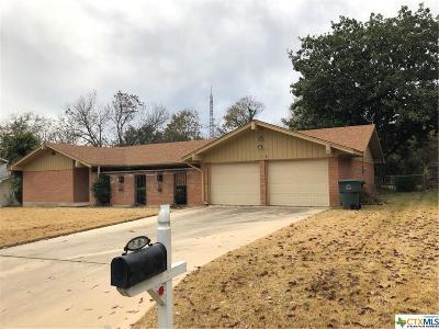 Temple, Belton Single Family Home For Sale: 3502 Oakdale