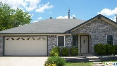 Copperas Cove Single Family Home For Sale: 1408 Amthor Avenue