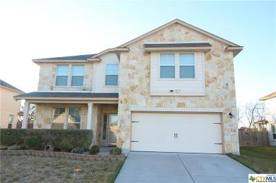 Killeen Single Family Home For Sale: 2403 Black Orchid Drive