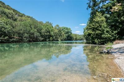 Comal County Single Family Home For Sale: 6288 River Road #16