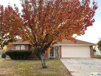 Killeen TX Single Family Home For Sale: $109,900