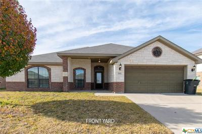 Killeen Single Family Home For Sale: 6611 Deorsam Loop
