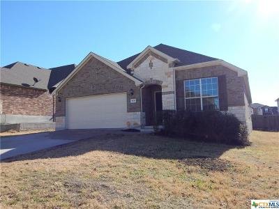 Harker Heights Single Family Home For Sale: 806 Green Meadow Drive