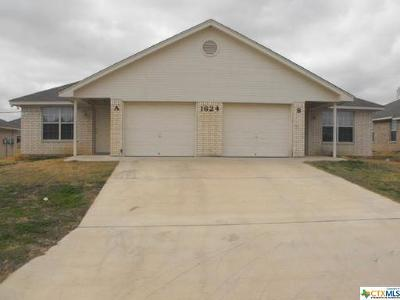 Harker Heights Multi Family Home For Sale: 1624 Yuma