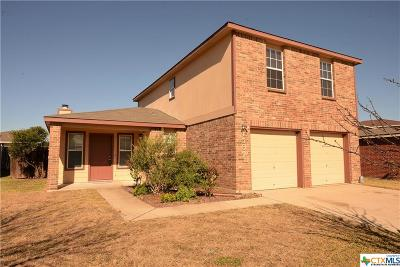 Killeen Single Family Home For Sale: 4507 Indigo Drive