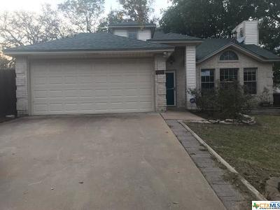 Belton TX Single Family Home For Sale: $160,000