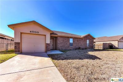 Killeen Single Family Home For Sale: 4000 Seahorse Drive