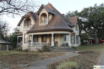 Lampasas Single Family Home For Sale: 502 S Broad