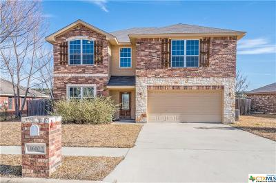 Copperas Cove Single Family Home For Sale: 1610 Walker Place Boulevard