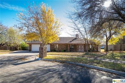 Killeen  Single Family Home For Sale: 605 Trout Cove