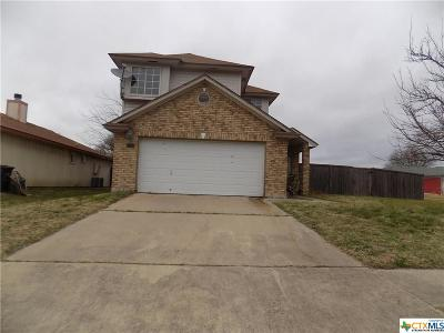 Killeen TX Single Family Home For Sale: $58,500