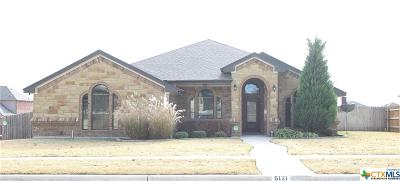 Killeen Single Family Home For Sale: 5121 Siltstone