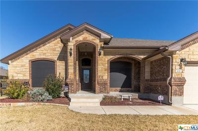 Harker Heights Single Family Home For Sale: 1017 Doc Whitten Drive