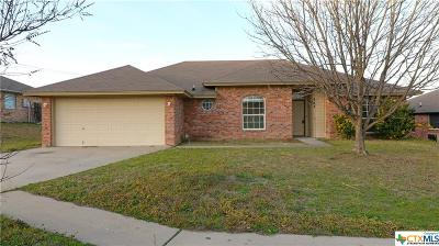 Copperas Cove Single Family Home For Sale: 503 Citation Drive