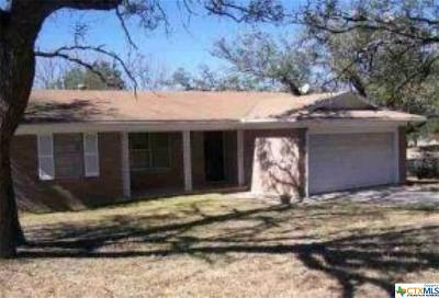 Lampasas Single Family Home For Sale: 89 Sueann