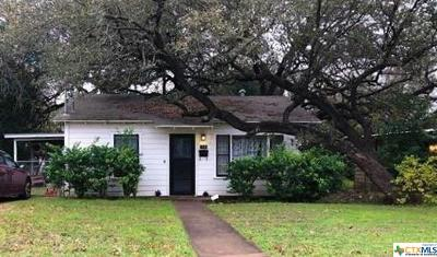 Belton TX Single Family Home For Sale: $64,000