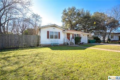 Belton TX Single Family Home For Sale: $130,000