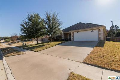 Harker Heights Single Family Home For Sale: 1512 Loblolly Drive