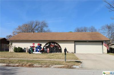 Killeen Single Family Home For Sale: 2305 Lily
